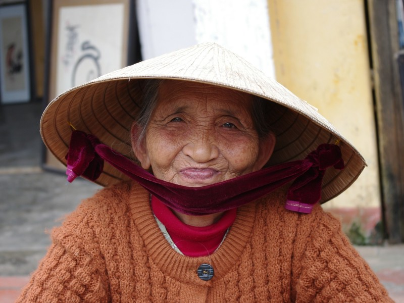 Alte Dame Vietnam