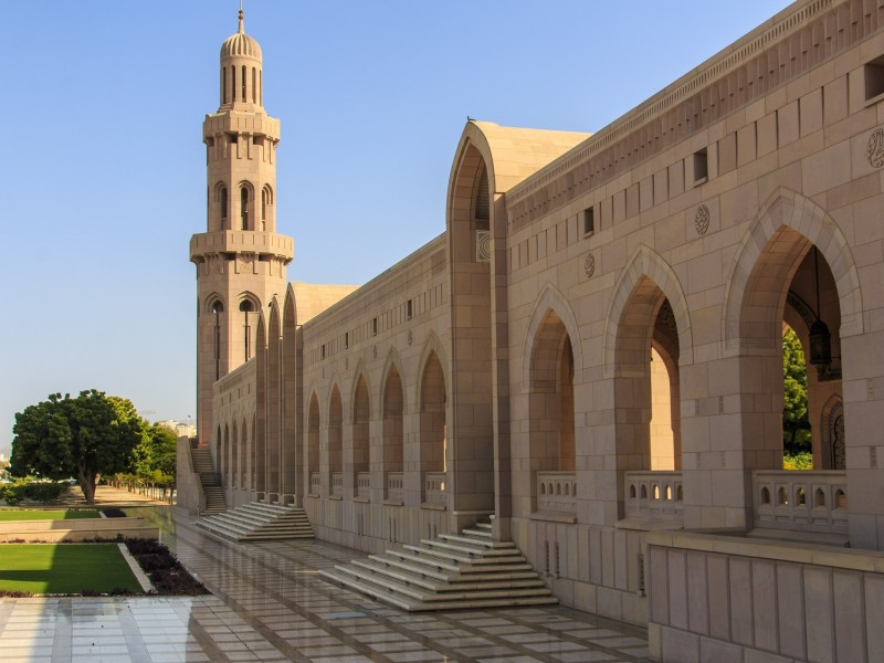Sultan Qabus Moschee Muscat