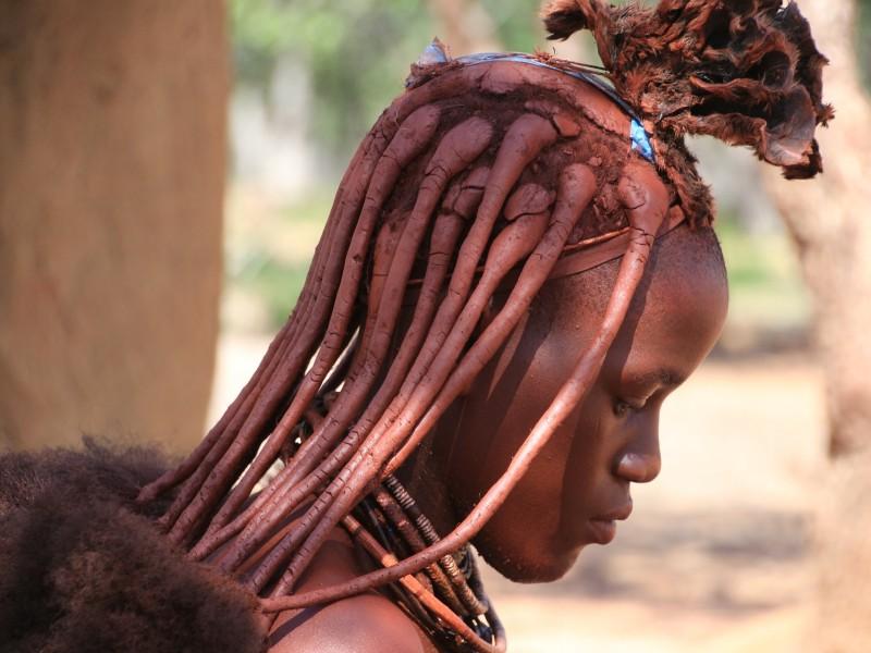 Himbra Frau