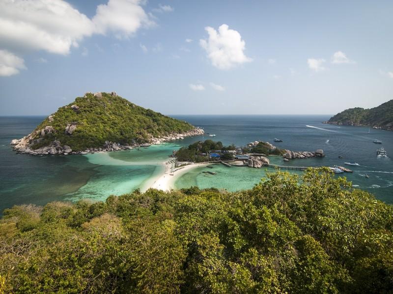 Inselhüpfen im Golf von Thailand
