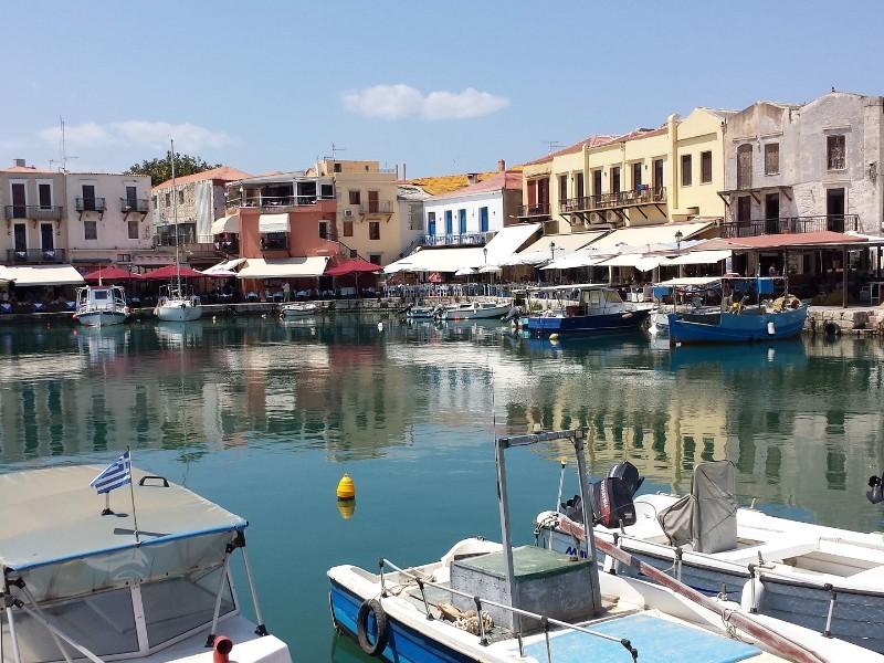 Hafen in Rethymno