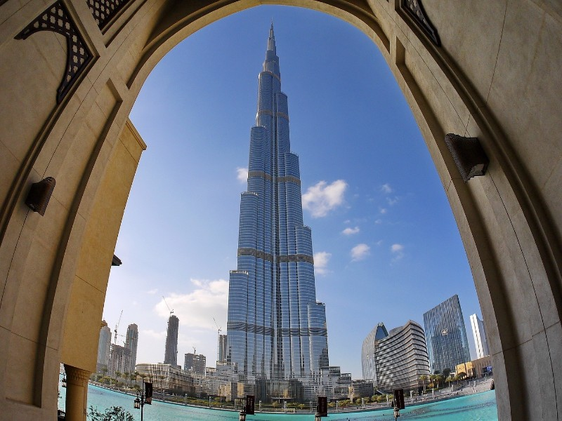 Das Burj Khalifa in Dubai