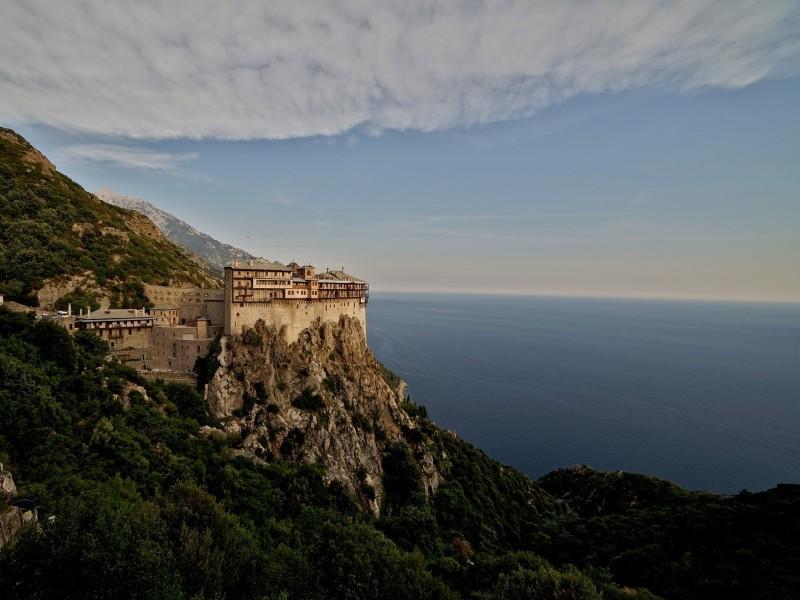 griechenland-chalkidiki-athos-kloster