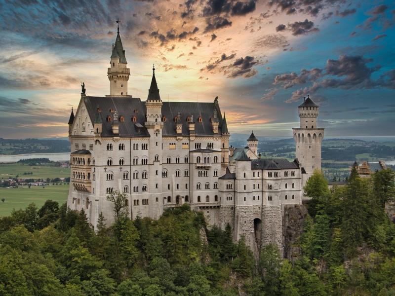 Romantische Höhepunkte in Deutschland