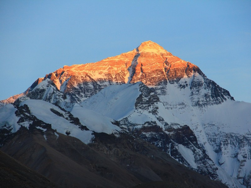 Mount Everest Sonnenaufgang