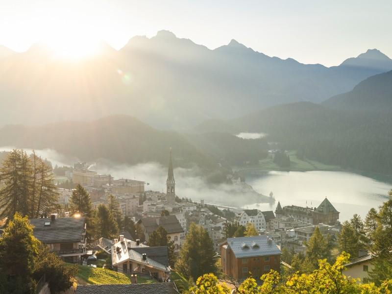 Zauberhaftes St. Moritz