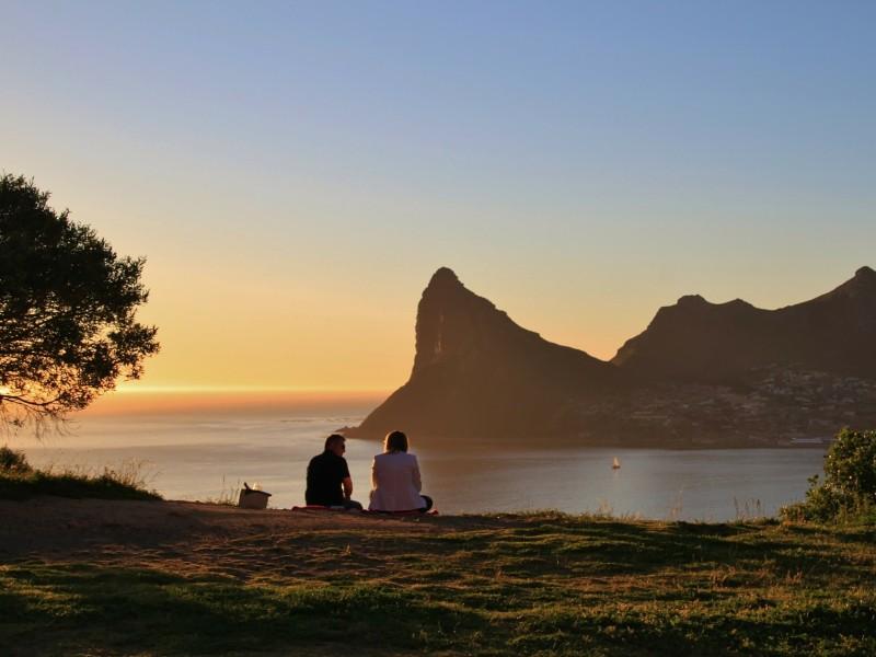 Kapstadt bei Sonnenuntergang
