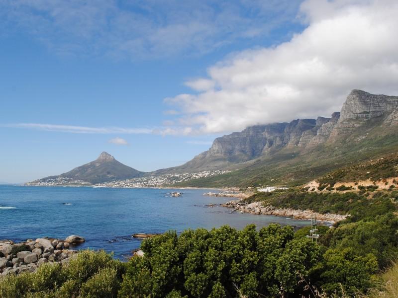 Küste von Kapstadt