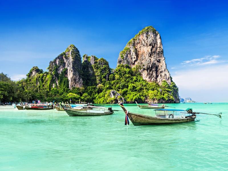 Traumhafter Golf von Thailand
