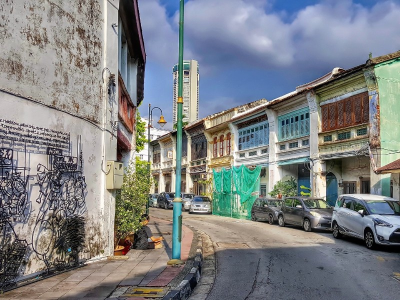 Straßen von Penang