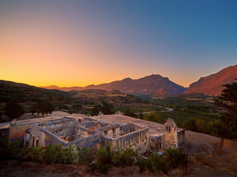Malerisches Panorama, Kreta