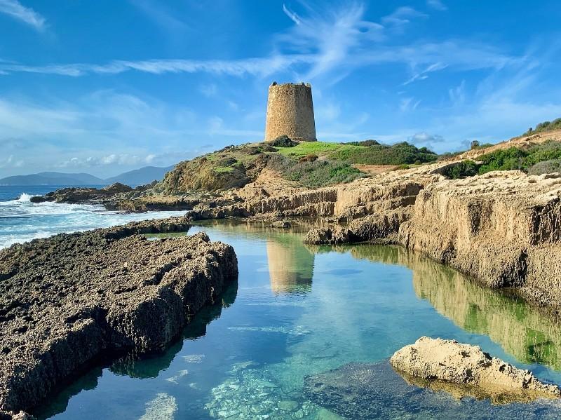 Torre am Meer, Cagliari