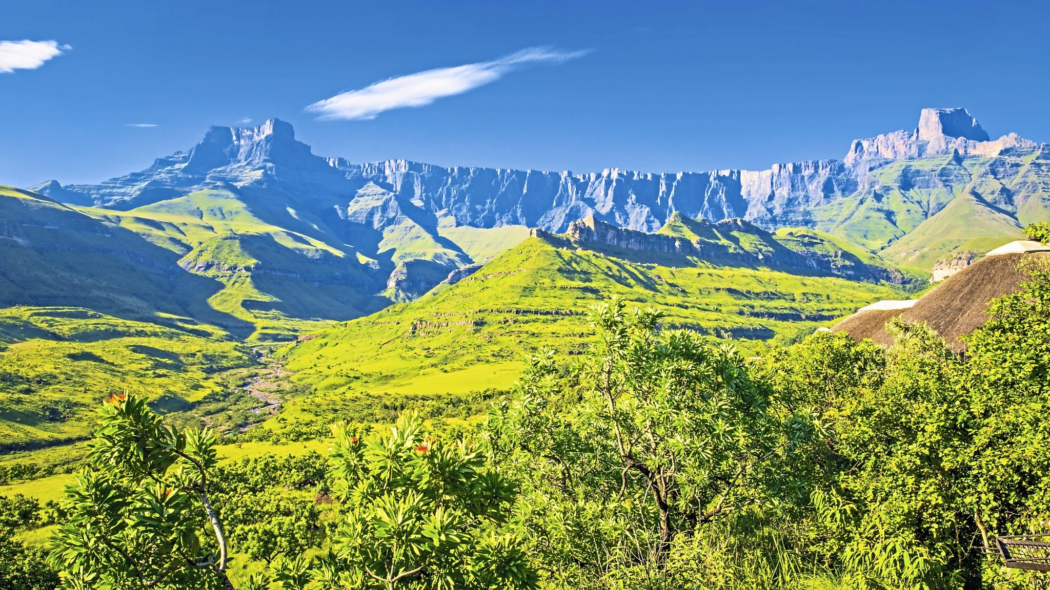 Drakensberge im Royal Natal NP