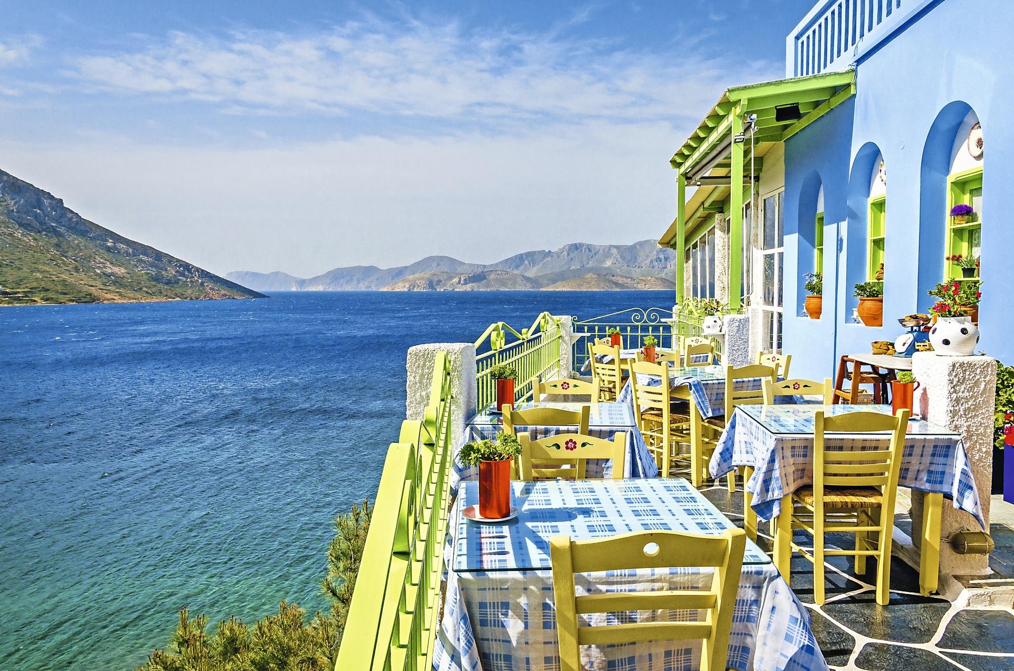 Taverne auf Korfu