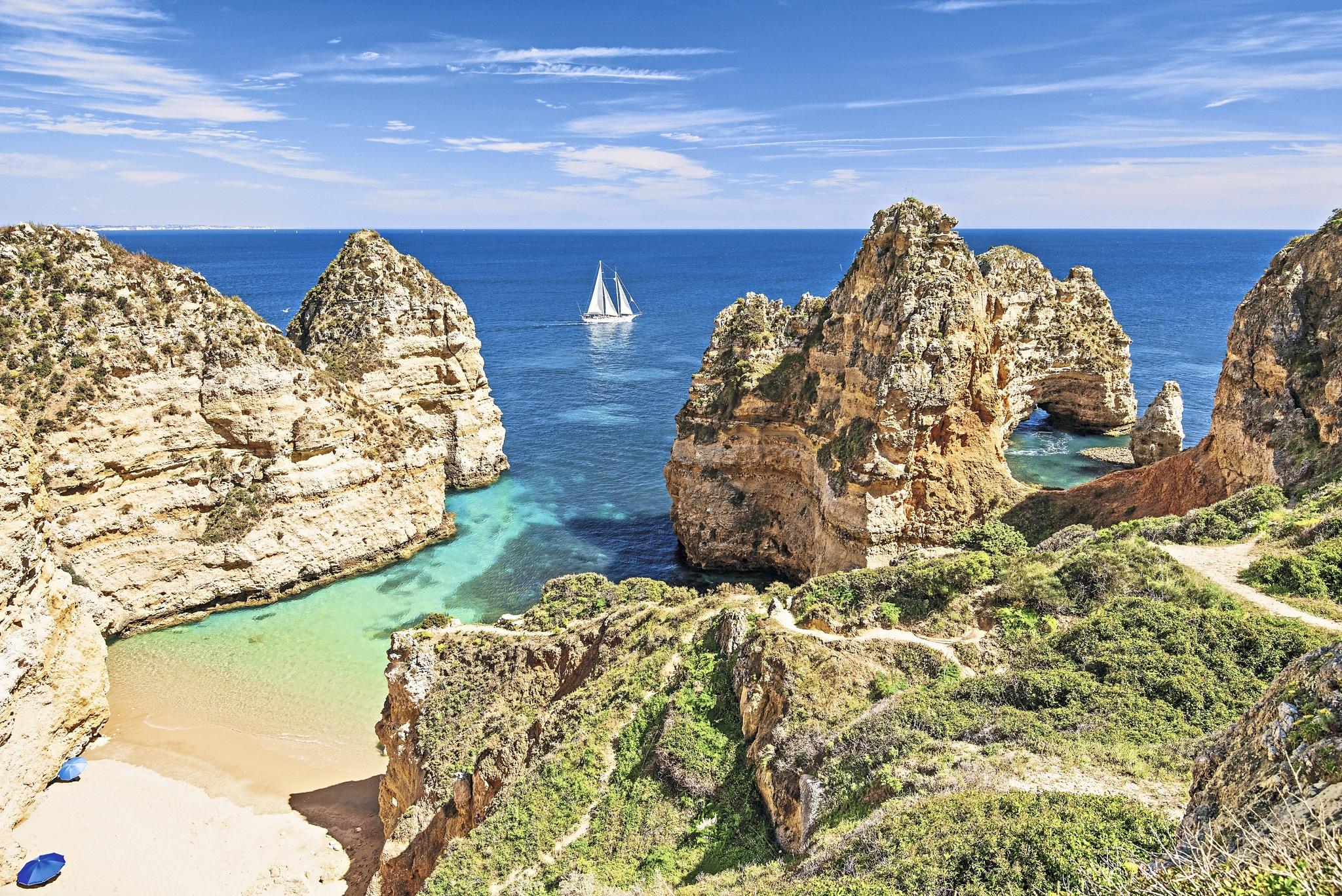 Portugal Algarve Strand Küste Atlantik