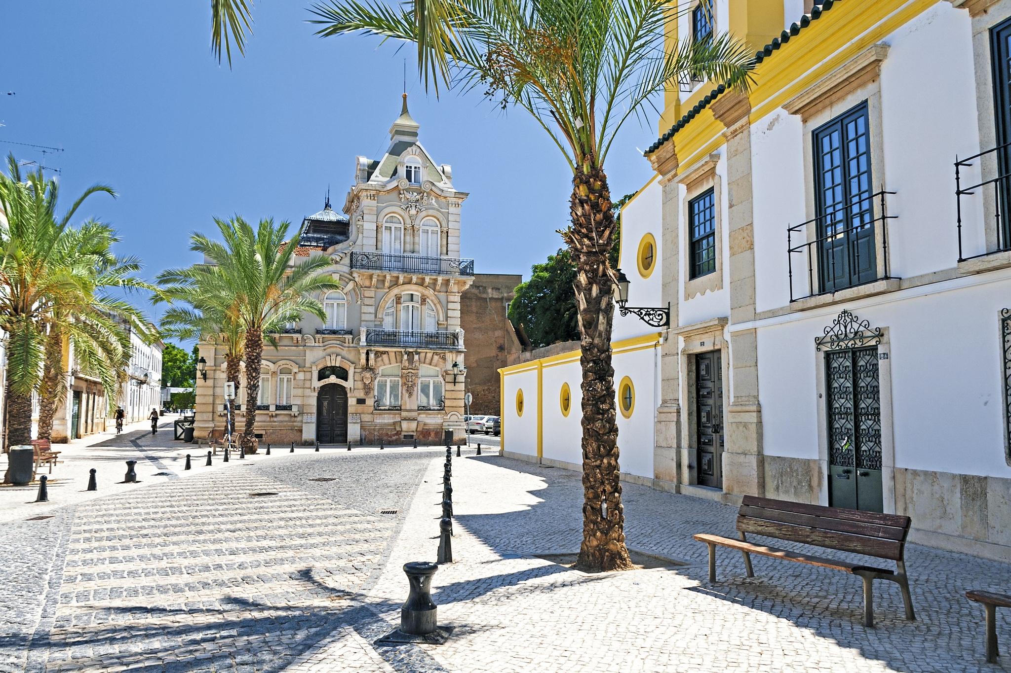 Portugal Algarve Faro Lagos Platz