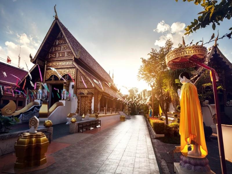 Tempel in Chiang Rai