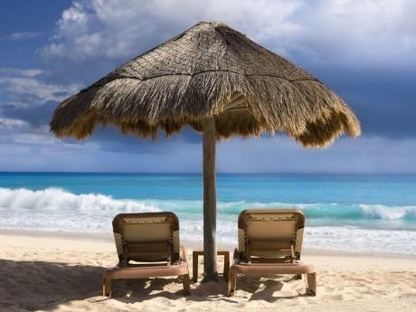 Strandvergnügen Playa del Carmen
