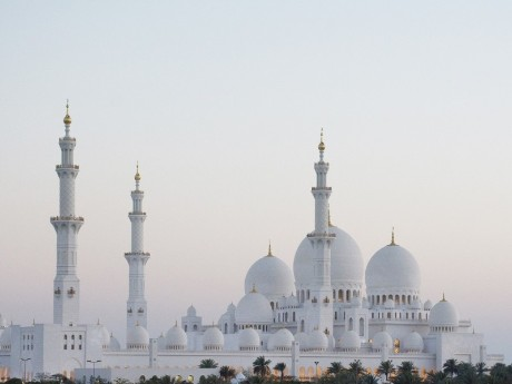 Stopover in Abu Dhabi