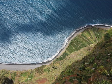 Blick von der Steilküste, Madeira