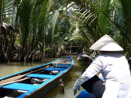 Mekong Delta Kanäle