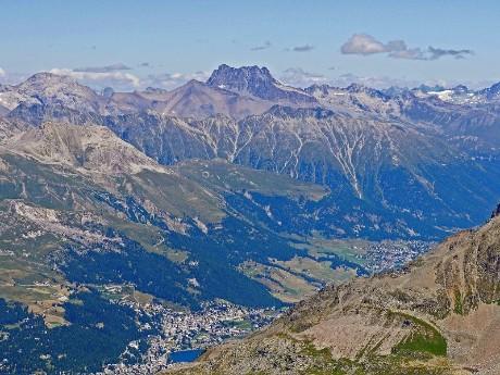 Alpines Panorama, St. Moritz