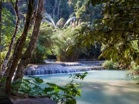 Kuang Si Wasserfälle 2