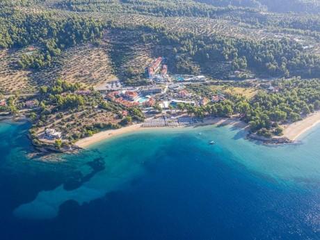 griechenland-lagomandra beach -lage