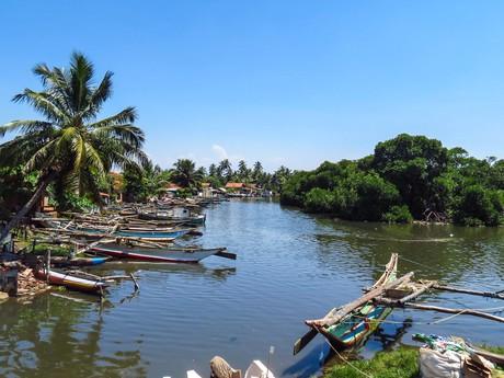 Erholung am Strand von Negombo