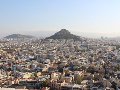 Panorama von Athen