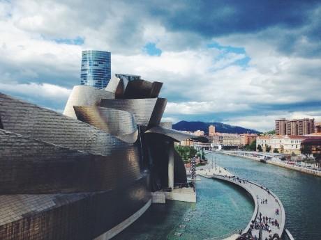 Panorama Guggenheim Museum, Bilbao