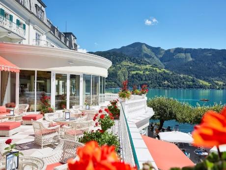 Terrasse Seebar, Grand Hotel Zell am See