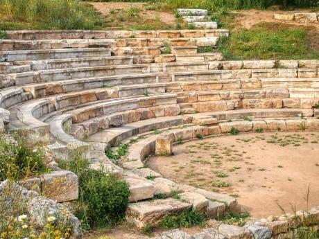 Ruinen in Chania
