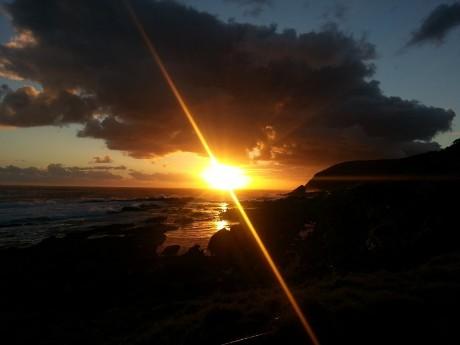 Tsitsikamma Nationalpark Sonnenuntergang