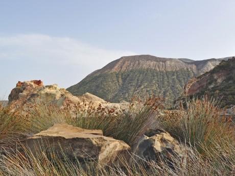 Wilde Landschaft auf Vulcano