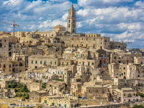 Italien-Matera-Panorama