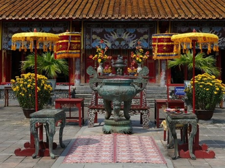 Tempeleingang in Hue