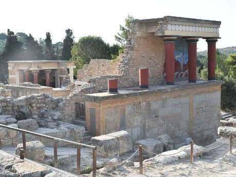 Kreta_Heraklion_Palast von Knossos_Ruine