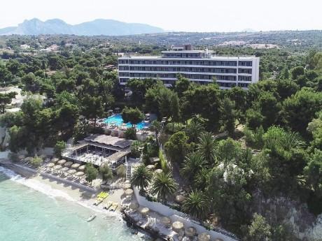 griechenland_isthmia_hotel saron-fassade