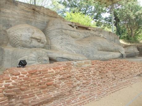 Buddha liegend Polonnaruwa