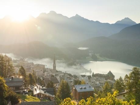 St. Moritz im Sommer