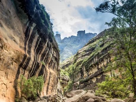 Drakensberge Schluchten