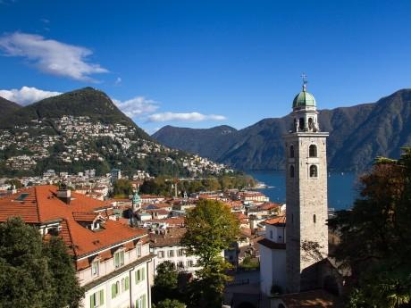 Panorama von Lugano