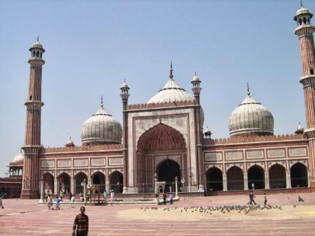 Jama Majid - große Moschee, Delhi