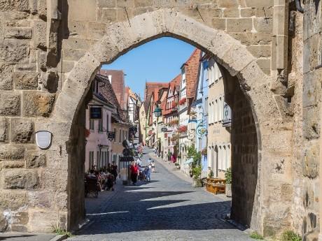 Verlängerung in Rothenburg ob der Tauber