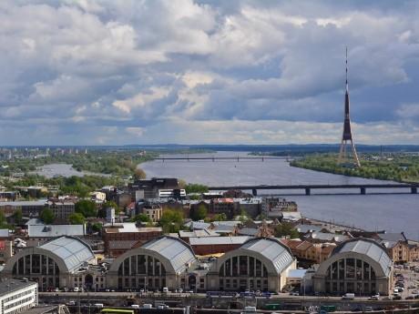Markthallen von Riga