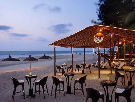 Erholung am Strand von Goa