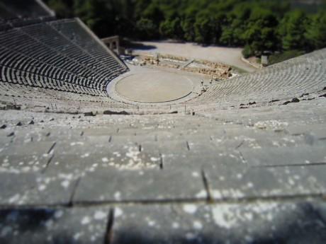 Amphitheater in Epidaurus