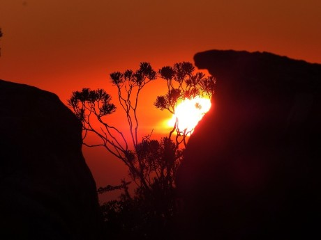 Tafelberg in der Abendsonne