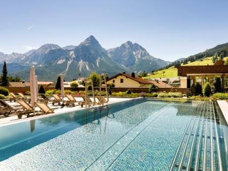 Pool, Hotel Edelweiss